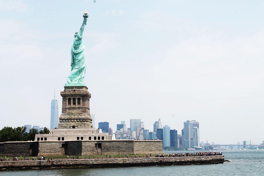 NYC, Liberty Statue, Staten Island
