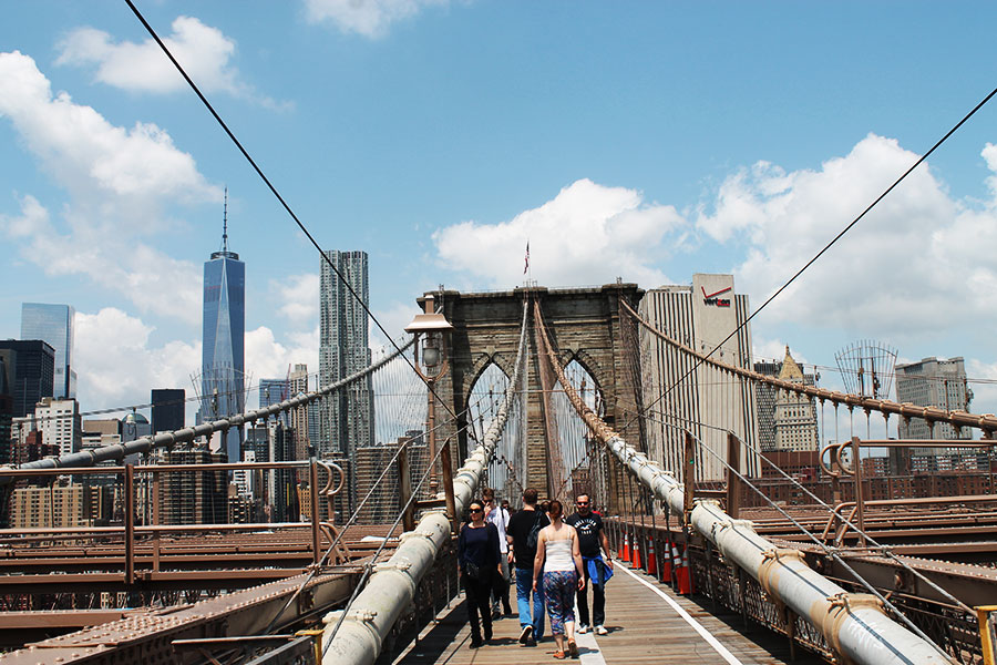 NYC, Brooklyn Bridge, Random facts over New York City