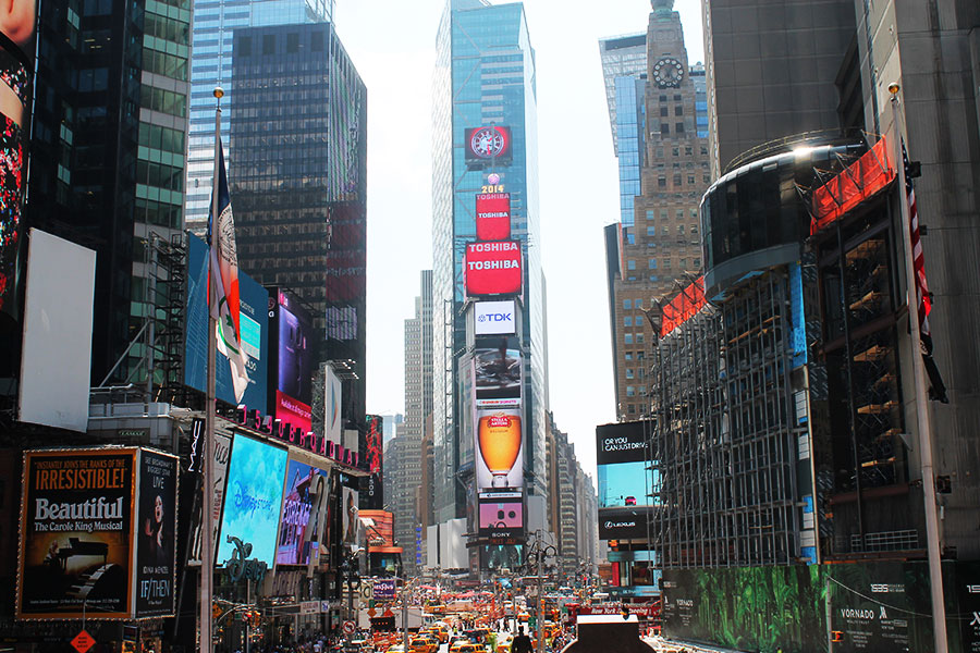 NYC, Times Square, New York