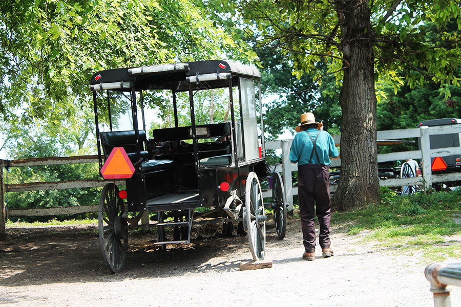 Back in time: Amish Country, Pennsylvania, lancaster, Amish, reizen in 2016