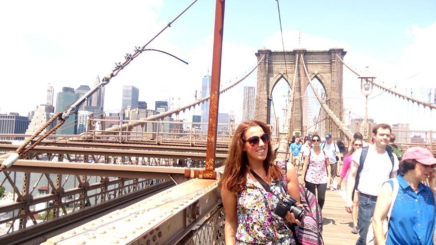 NYC, Brooklyn Bridge, New York City
