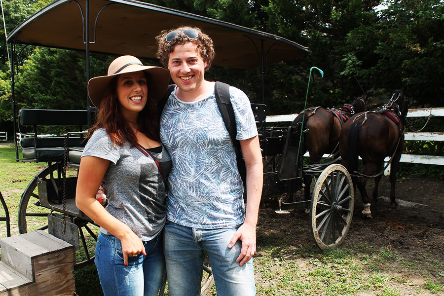 Back in time: Amish Country, Pennsylvania, lancaster, Amish