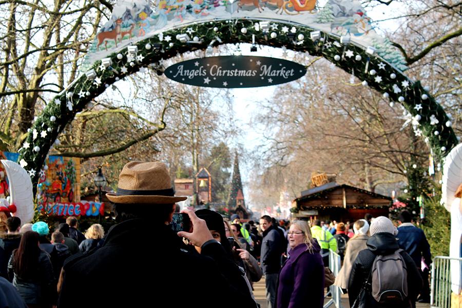 hyde park kerstmarkt londen