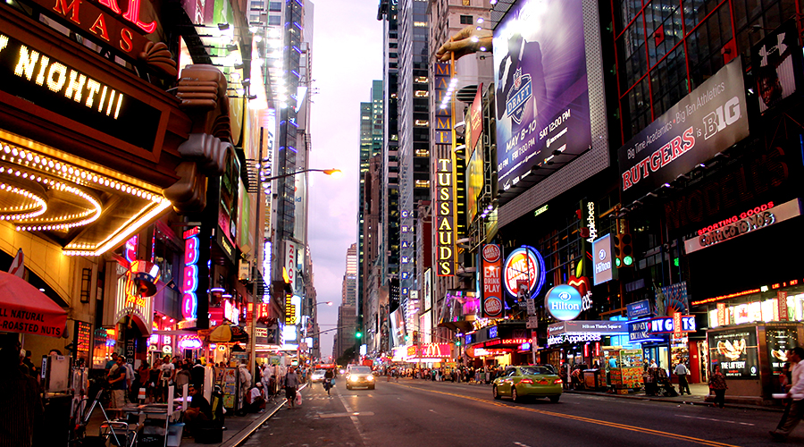 Manhattan, NYC, New York, Times Square