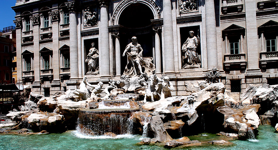 Travel, Rome, Italy, Italie, reizen, trevi fontein