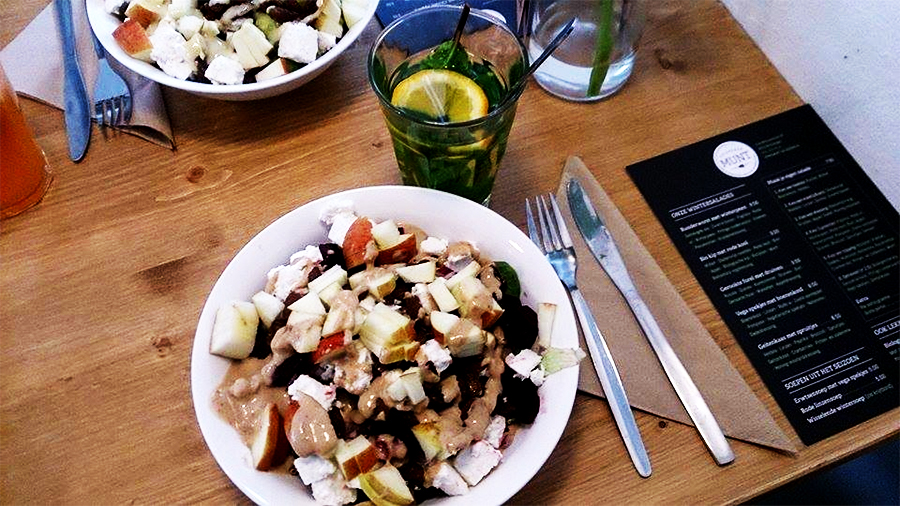 Munt Saladebar in Nijmegen, Gezonde foodspot, Gezonde lunch Nijmegen