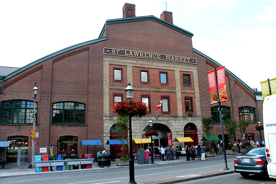 Wat te doen in Toronto, St Lawrence Market
