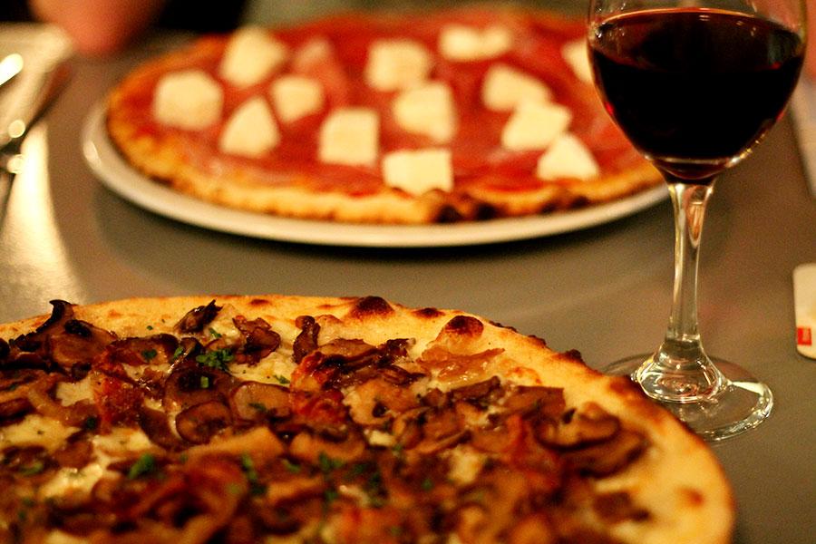 De Pizzabakkers in Nijmegen, uit eten in Nijmegen