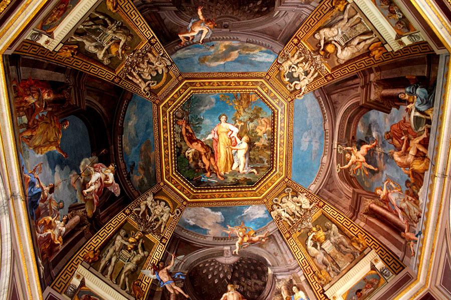 Rome weg Naar Sixtijnse Kapel