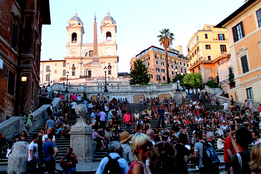 Rome-Spaanse-Trappen