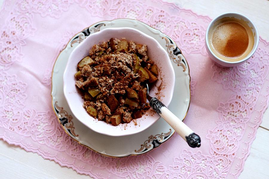 Gezonde appeltaart als ontbijt, Gezond ontbijt, ontbijtinspiratie
