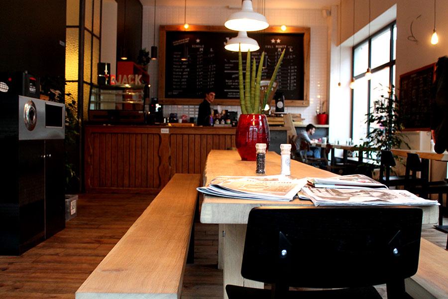Burgers eten en drinken in Gent bij Jack, Jack's Burgers Gent