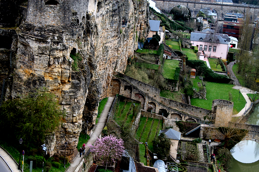 Luxemburg stad, Kazematten