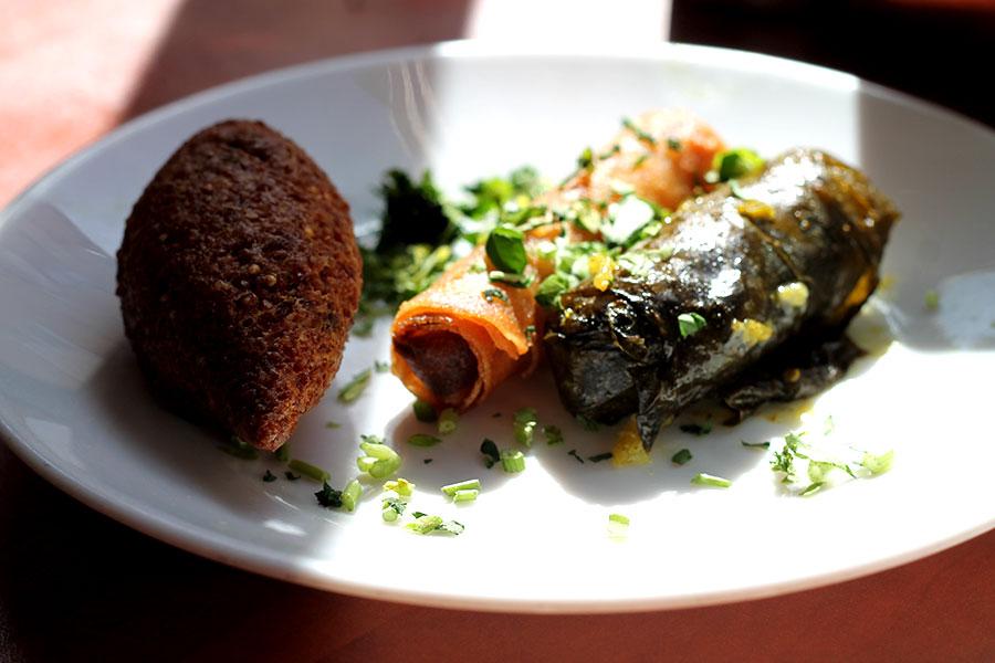 food from jeruzalem