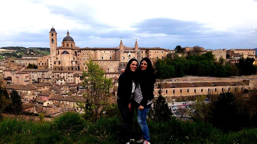 Fano en Urbino roadtrip