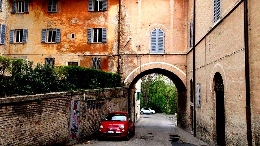 Urbino Italie roadtrip