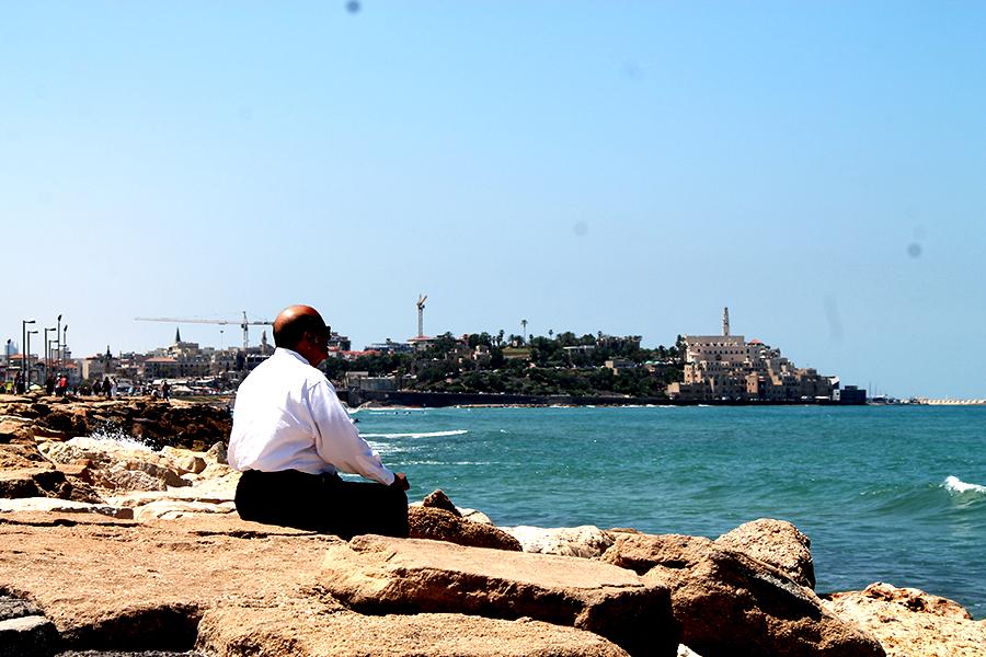 Israel, Tel Aviv, Middellandse Zee, Old Jaffa
