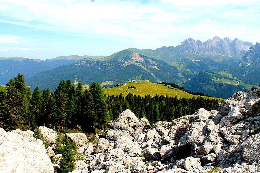 6 keer doen in de Dolomieten tijdens de zomermaanden