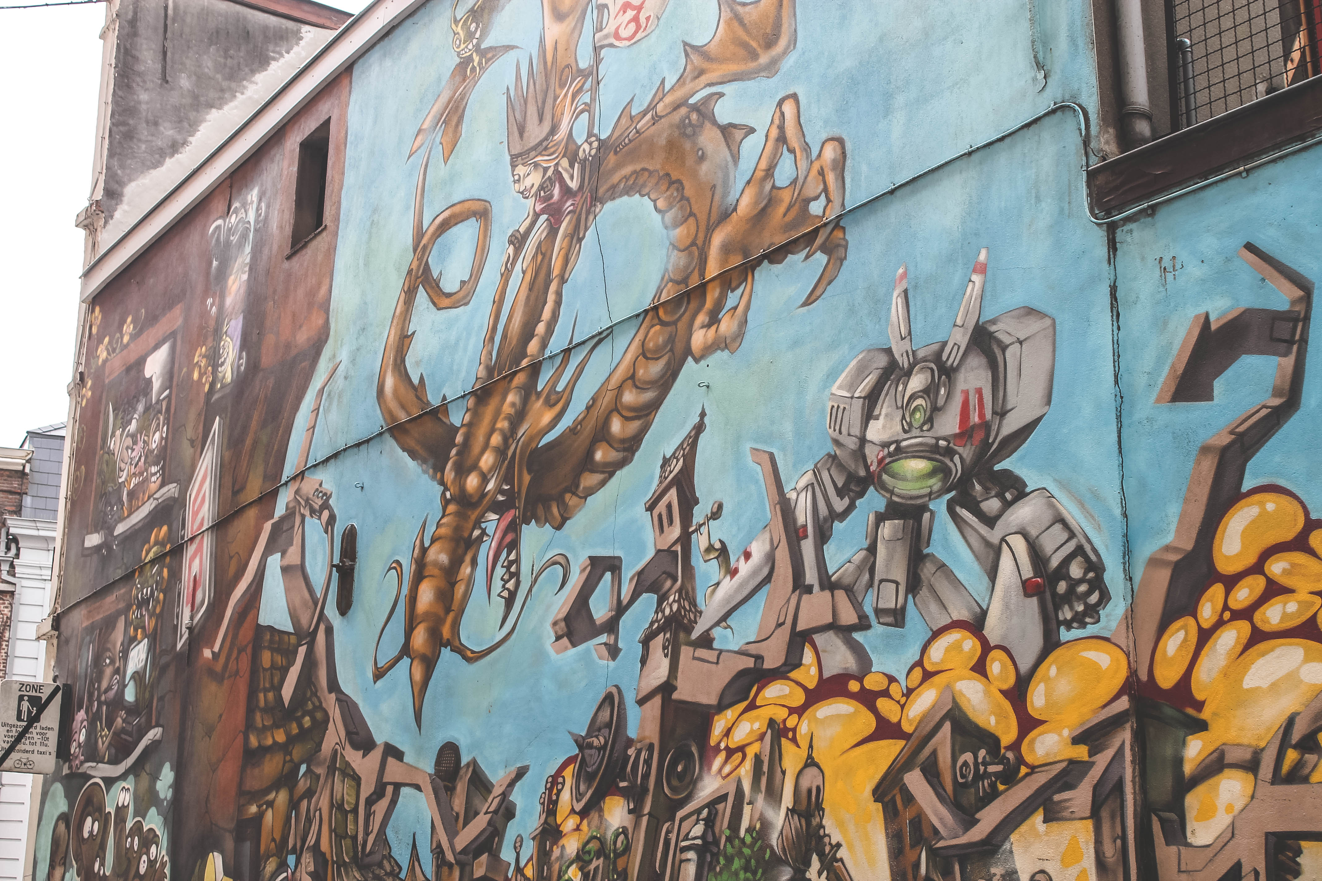 Weekendje Gent - Graffiti & street-art in gent