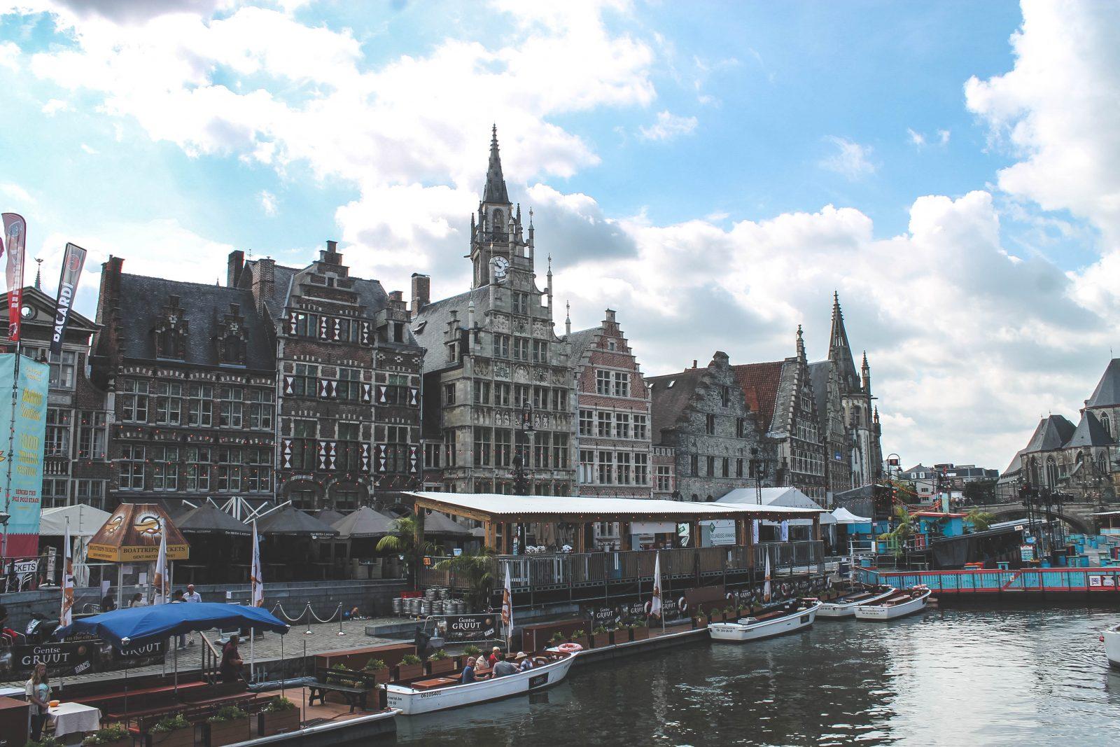 Weekendje Gent - Varen door de grachten