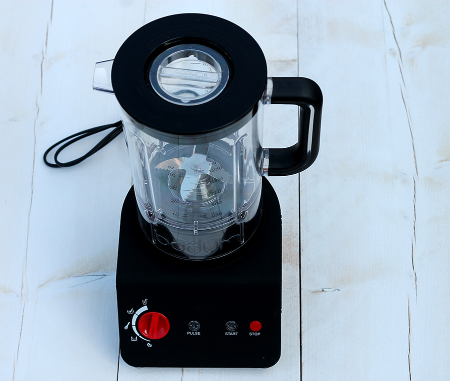 Gezonde smoothie, Power smoothie, Bodum Bistro Blender