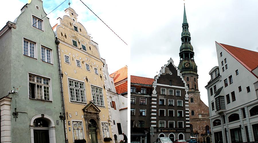 Gebouwen-in-Riga
