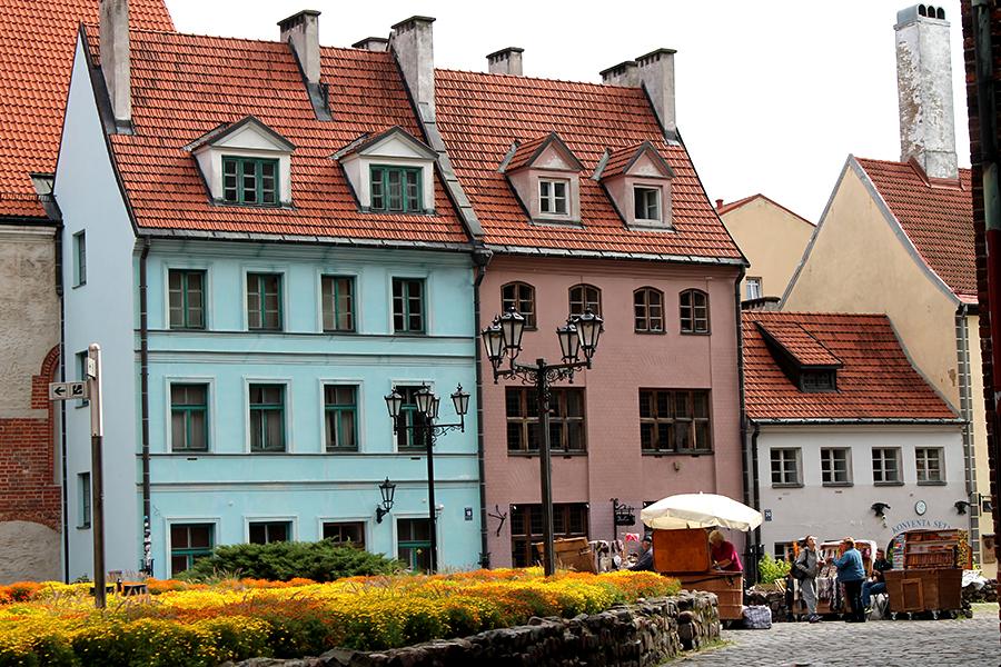 Riga-gebouwen