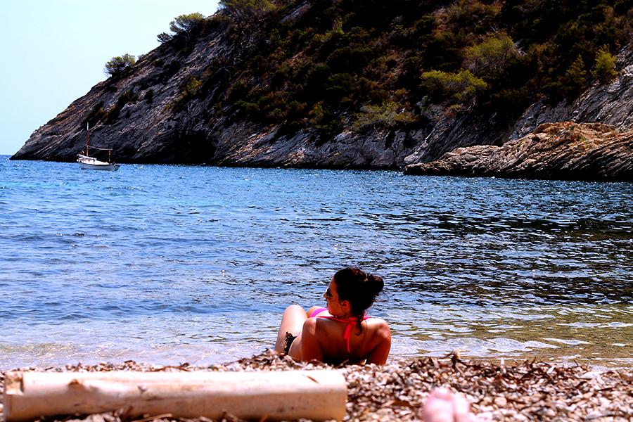 Secret Beaches Ibiza, Cala Llentrisca