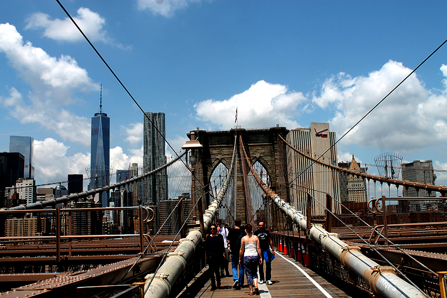 New York, Brooklyn Bridge, Brooklyn