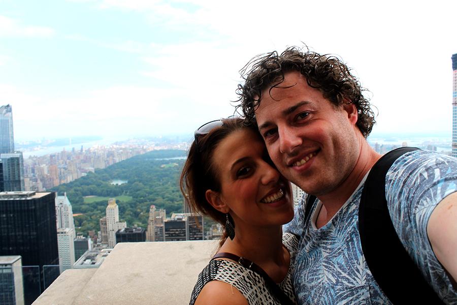 New York Top of the Rock, Rockefeller center