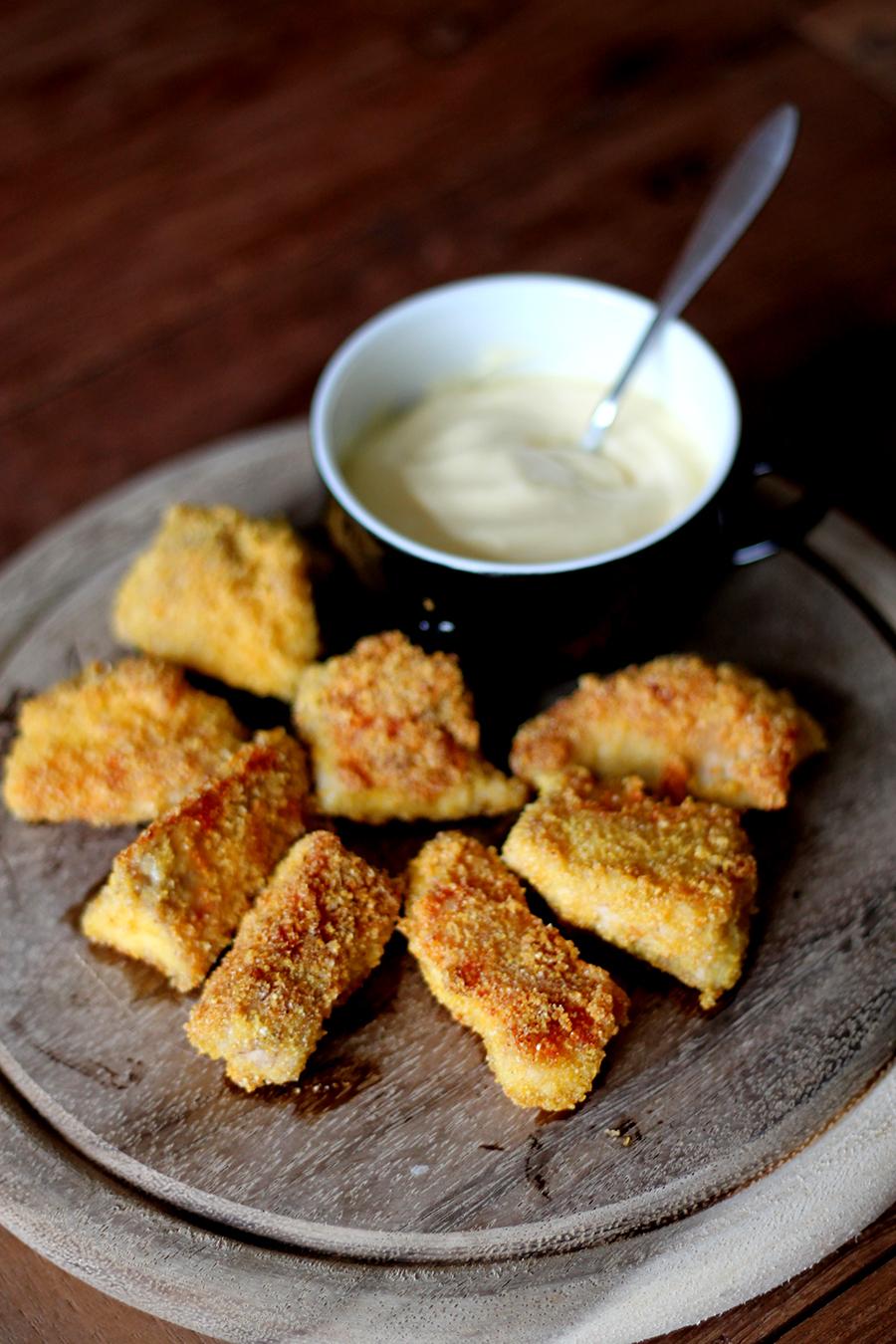 gezonde kipnuggets, snacken op vrijdag, gezonde snacks