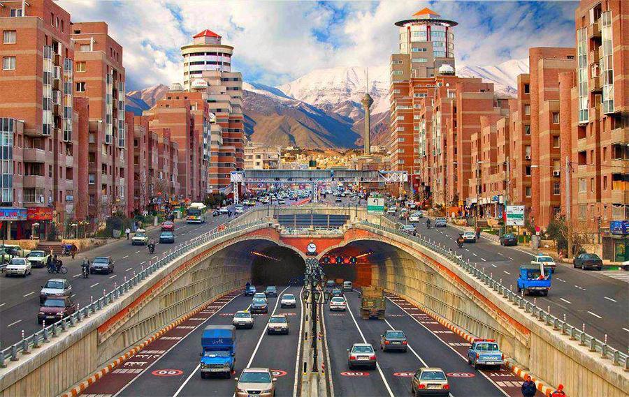 Teheran, reizen in 2016