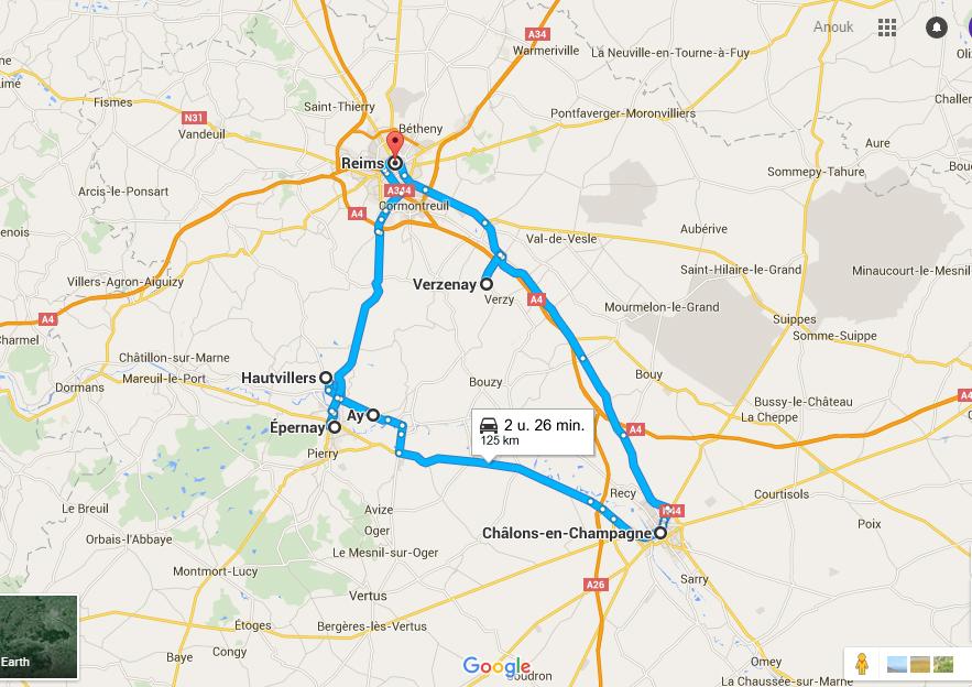 route door frankrijk