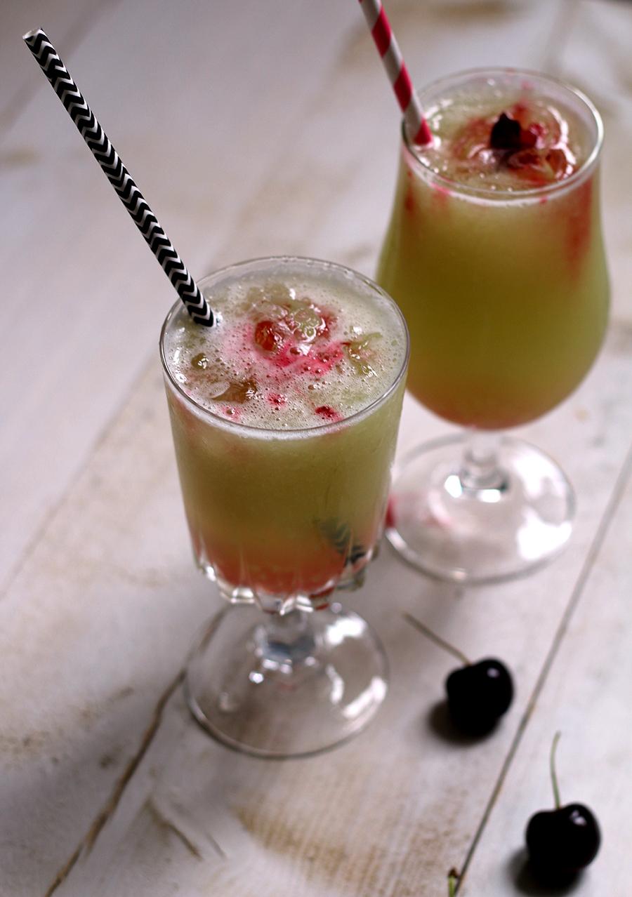 Gezond zomerdrankje: Galia meloen met crushed ice, gezonde zomerdrankjes
