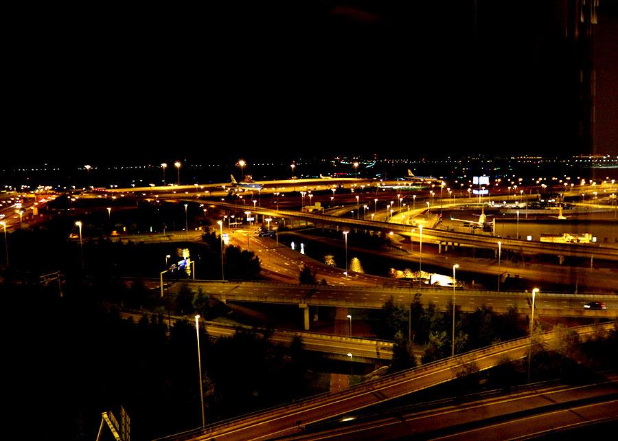 amsterdam uitzicht hilton hotel