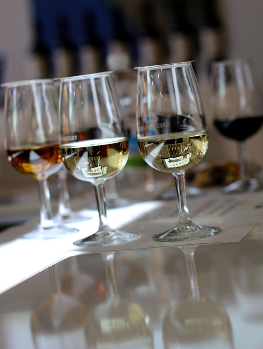 sherrywijnen, sherry proeven