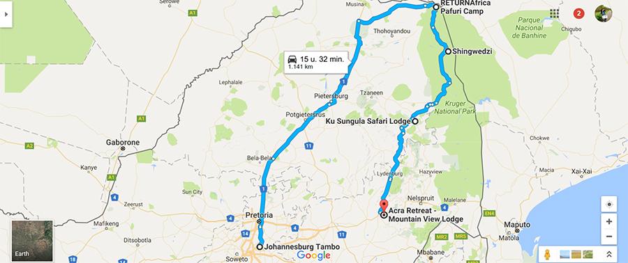 Onze route door Zuid-Afrika: deel 1