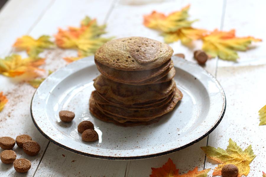 Voor het ontbijt: pompoen pannenkoekjes