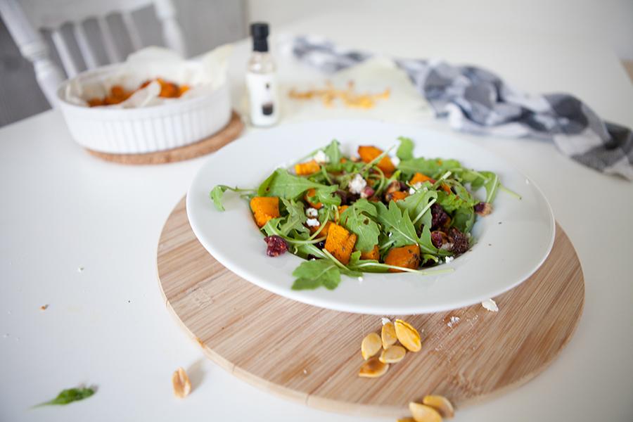 Gezonde pompoen salade voor dummies