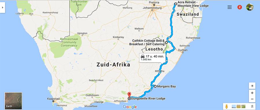 Onze route door Zuid-Afrika: deel 2