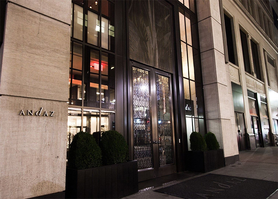 Andaz 5th avenue, overnachten in New York