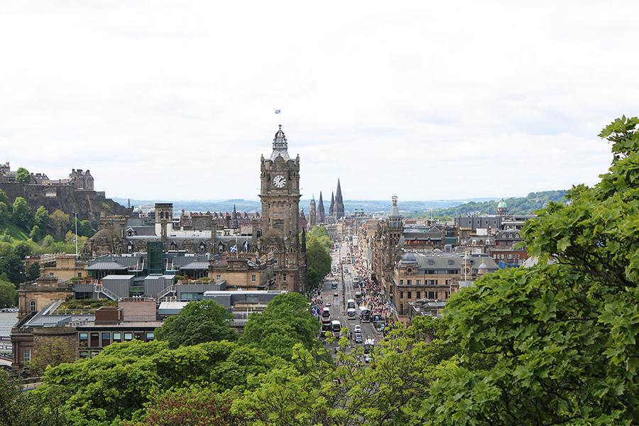 Ansichtkaart uit... Schotland!