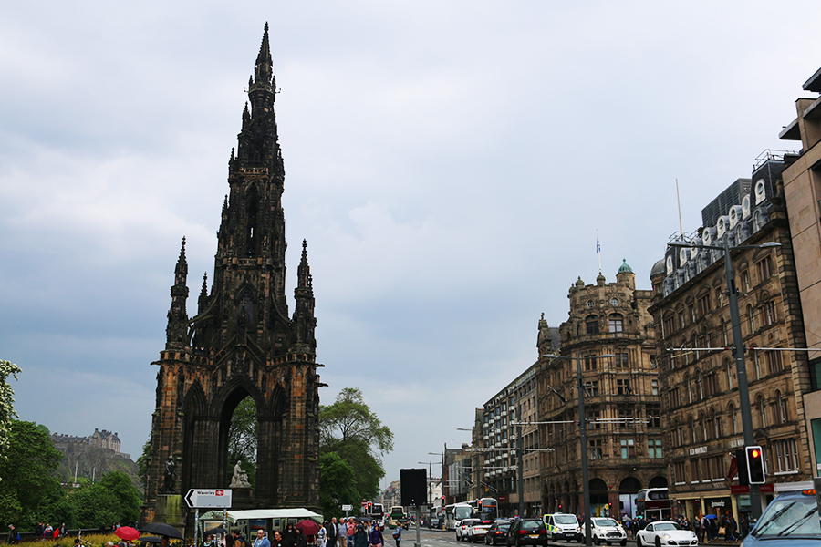Mini city guide voor Edinburgh