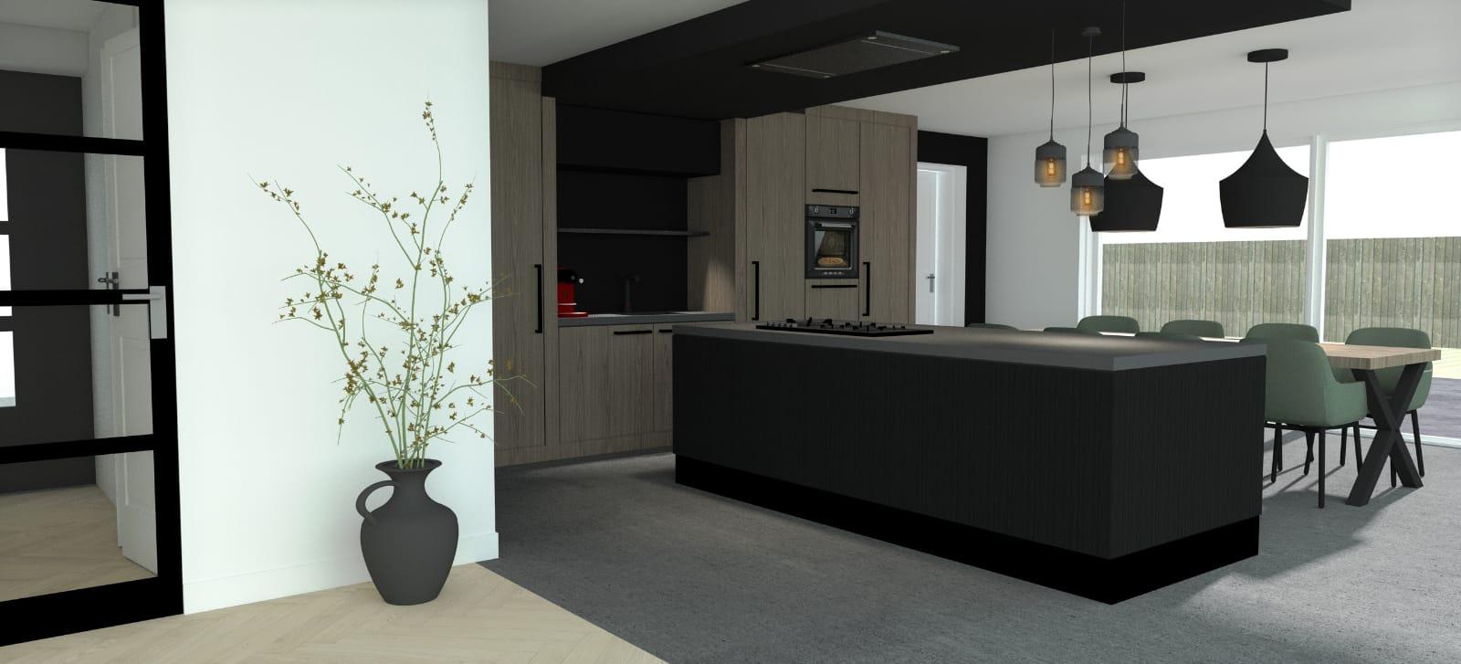 Wij bouwen een huis- Keuken