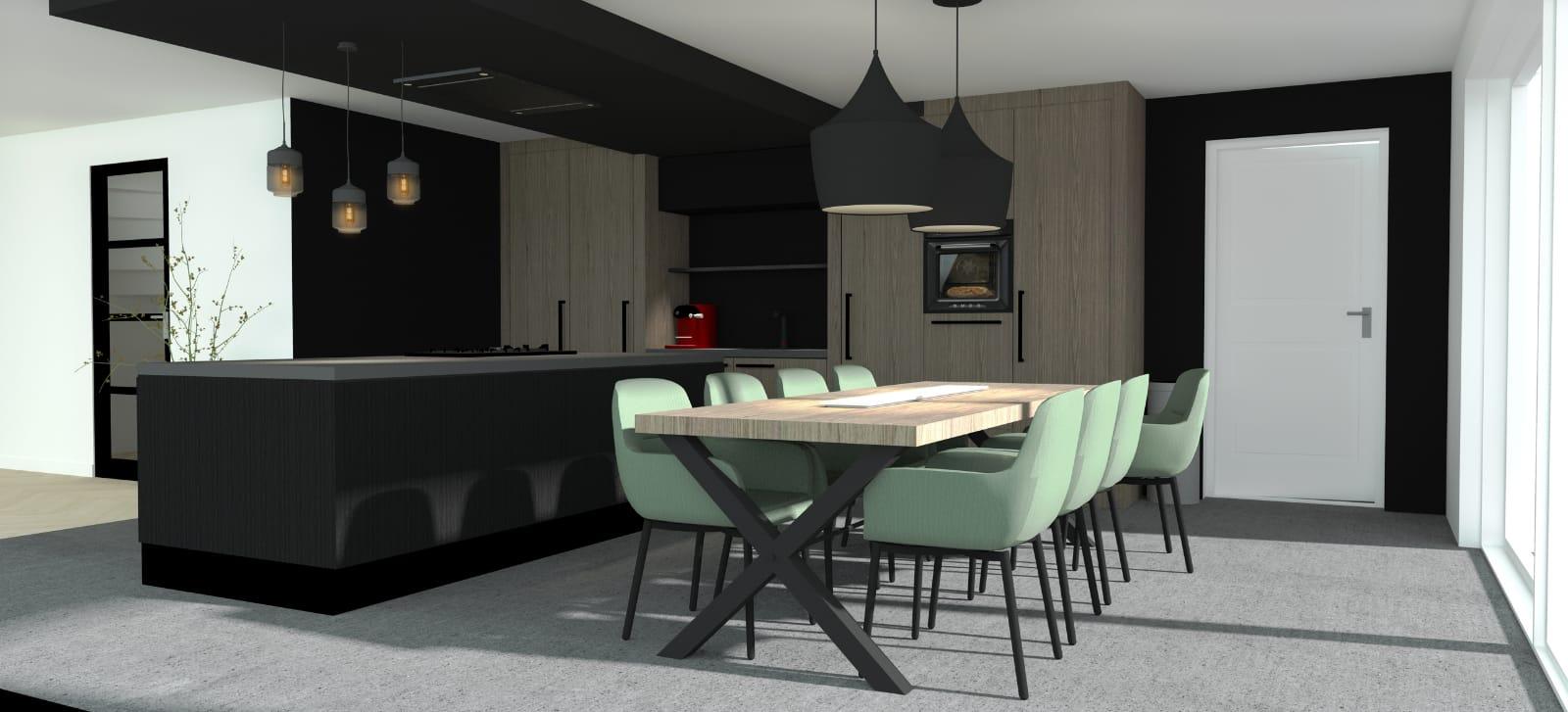 Wij bouwen een huis - keuken