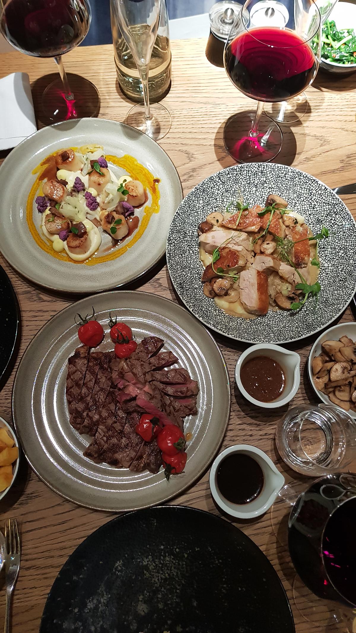 Diner Hilton Schiphol - Bowery Restaurant