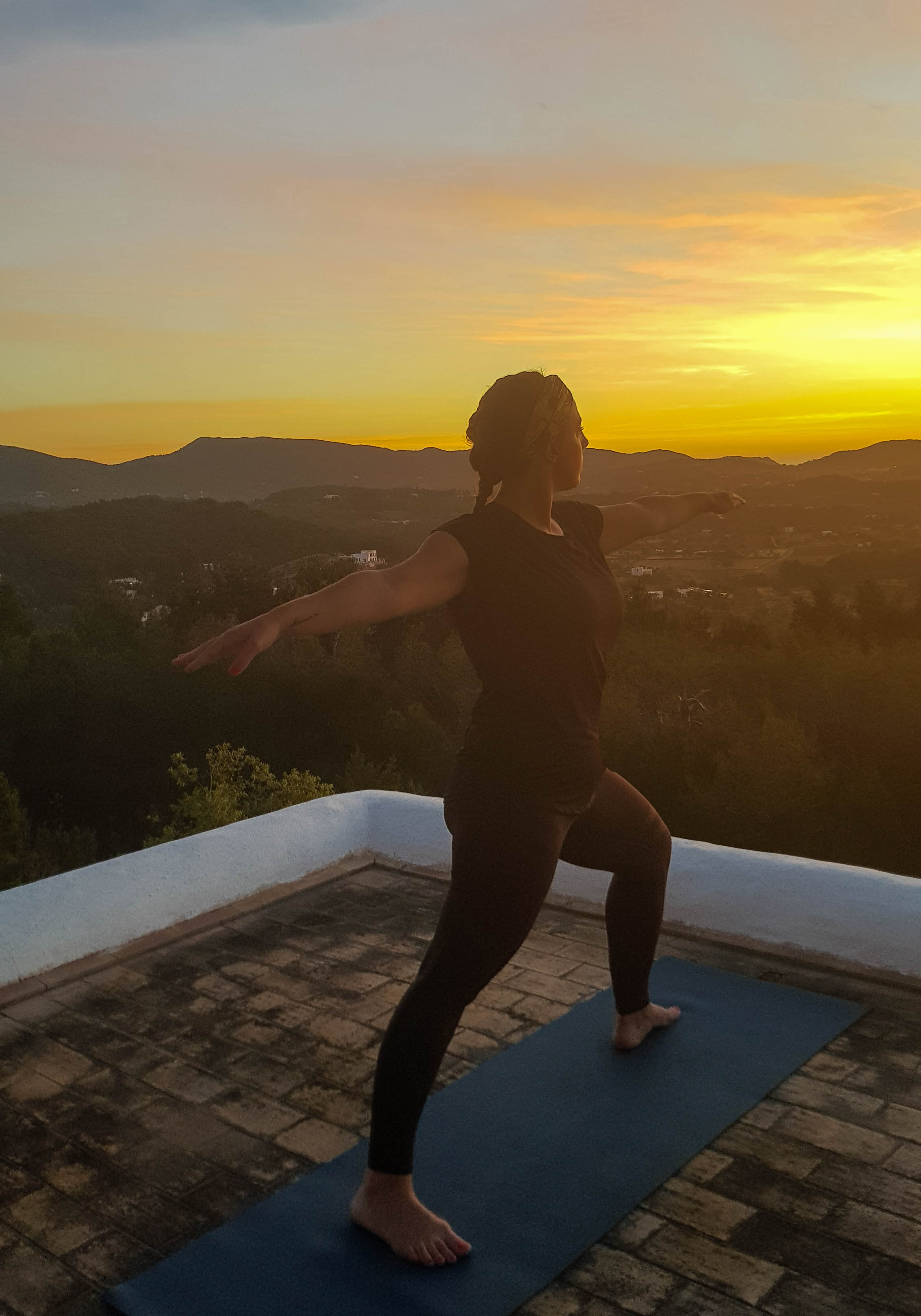 ochtend yogasessie
