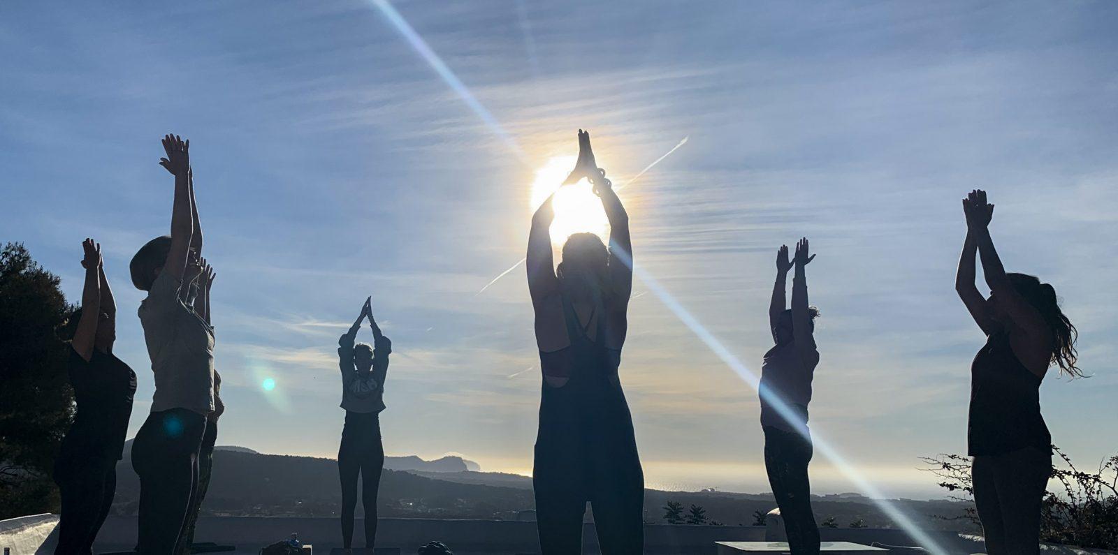 Ochtendmeditatie - Yoga Retreta Ibiza