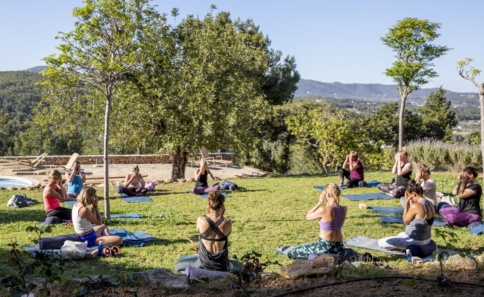 Restorative Yoga - Yoga Retreat Ibiza