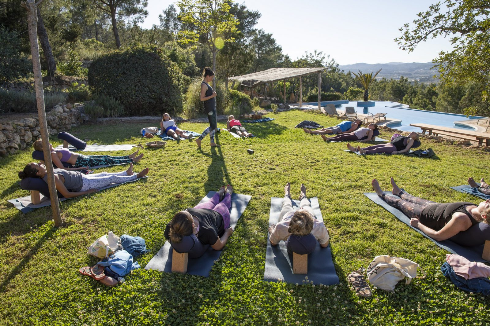 Restorative Yoga - Yoga Retreat Ibiza